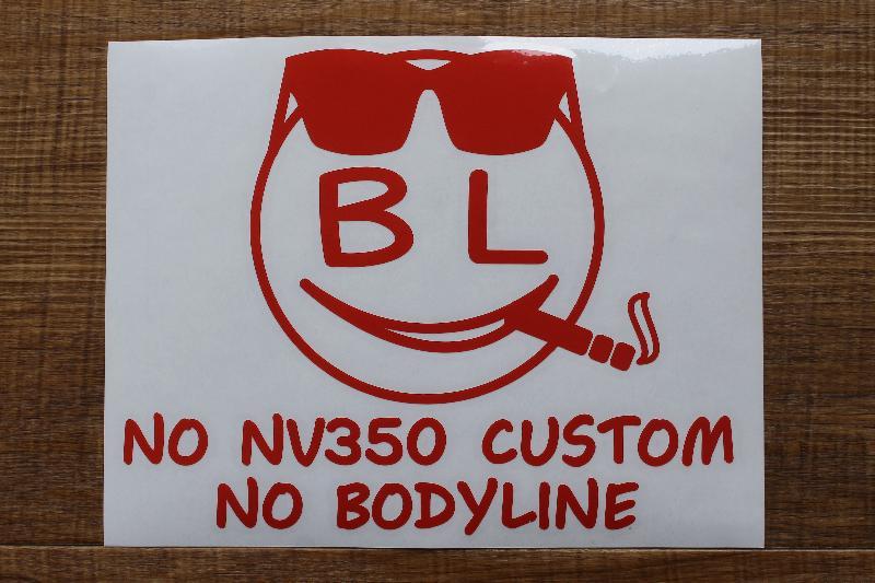 BodyLineオリジナル スマイルステッカー(ちょい悪バージョン)小 _画像_3