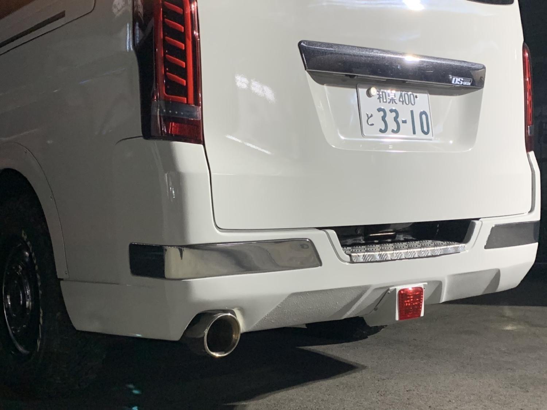 Body Line オリジナルリヤーバンパ&マフラーSET(未塗装 ディーゼル車)_画像21566