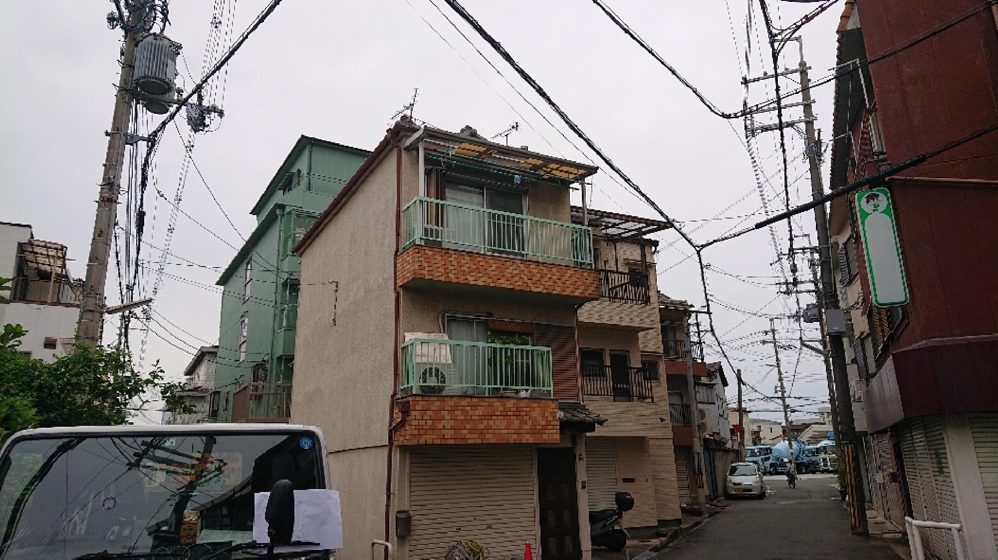 大阪府東大阪市 K様邸 外壁塗装