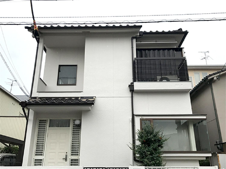 大阪府松原市天美我堂 N様邸 外壁塗装_画像