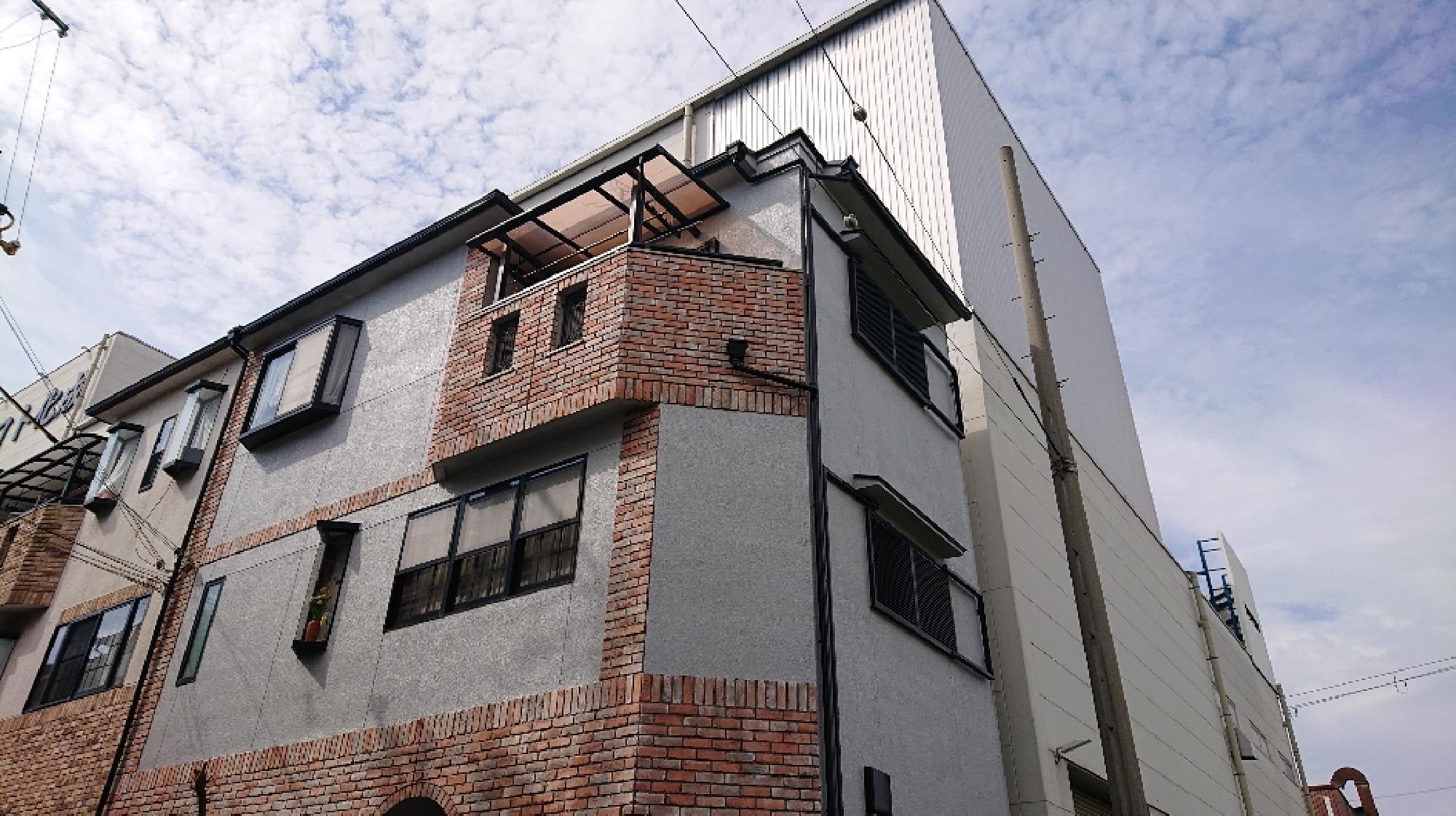 大阪府東大阪市 T様邸 外壁塗装_画像