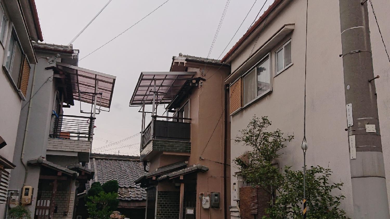 大阪府東大阪市 I様邸 外壁塗装