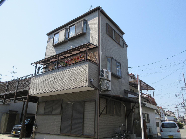 大阪府堺市北区 野遠町 K様邸 外壁塗装 _画像