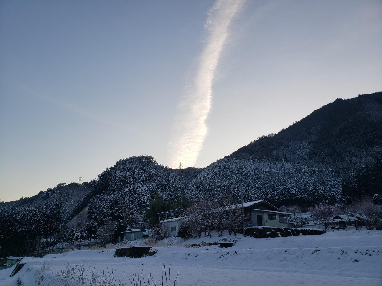 2020/03/17 08:00:00 今朝の里山の風景