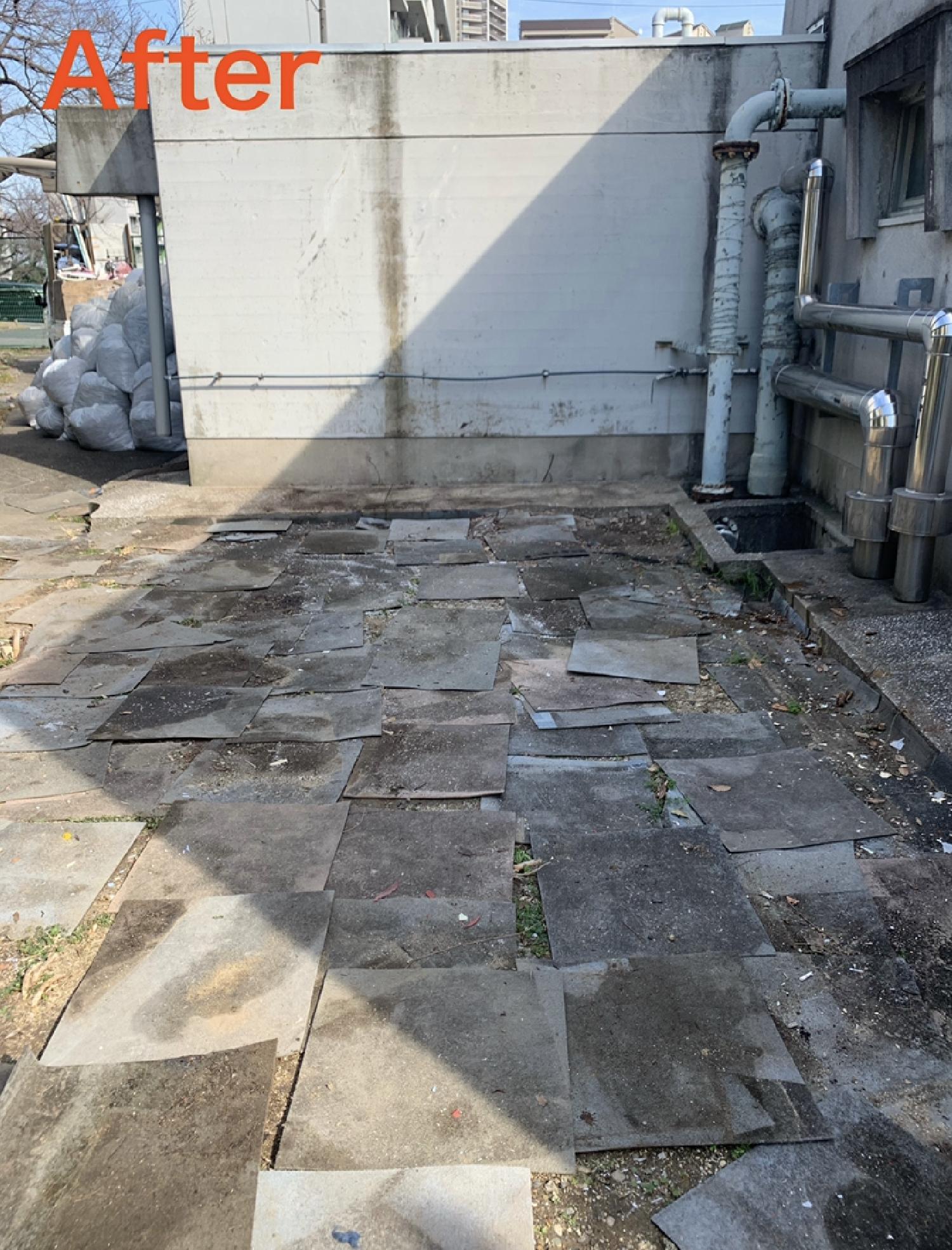 大阪府堺市北区、浅香山住宅管理組合様より不用品回収のご依頼。 画像_2