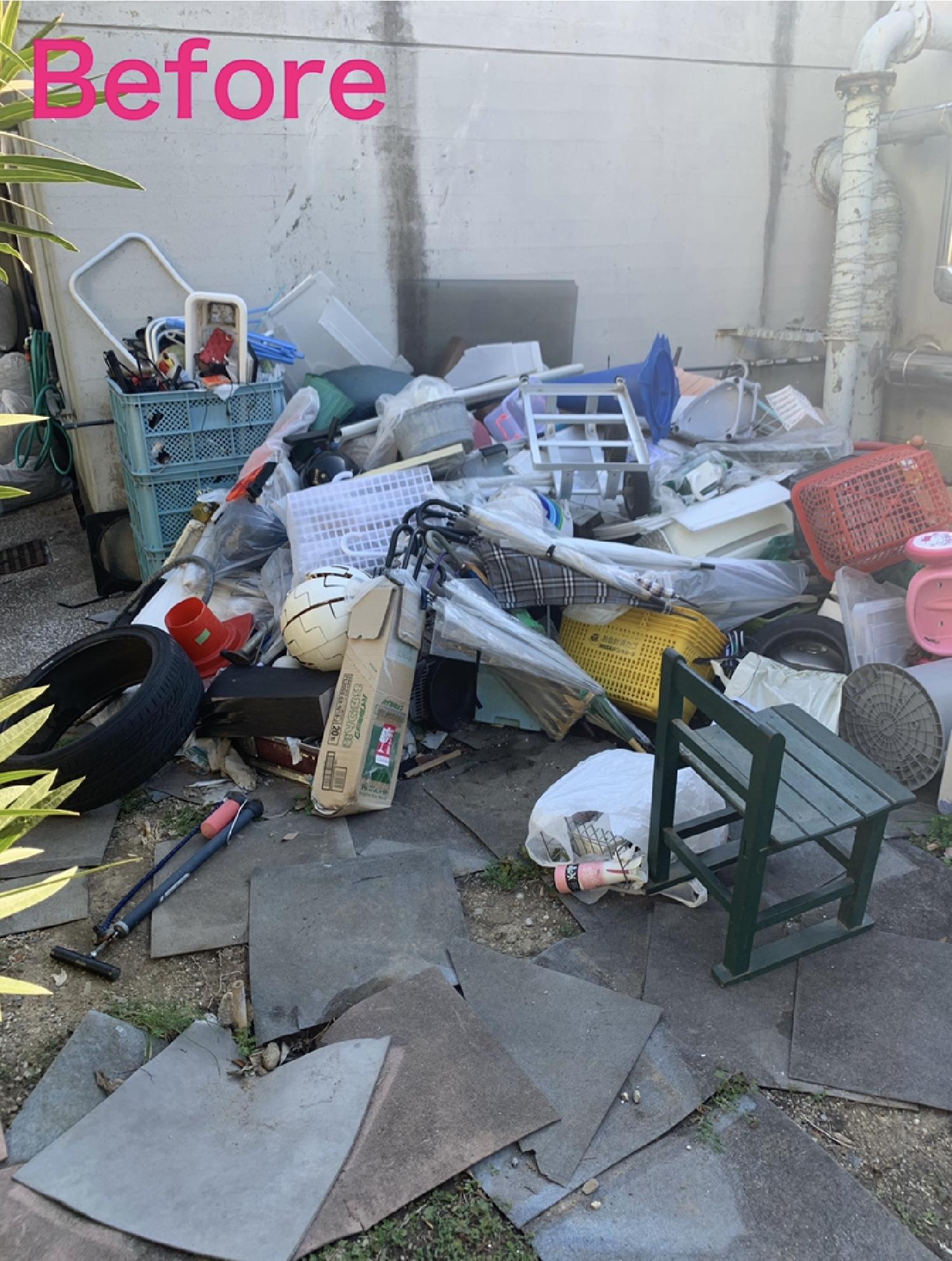 大阪府堺市北区、浅香山住宅管理組合様より不用品回収のご依頼。