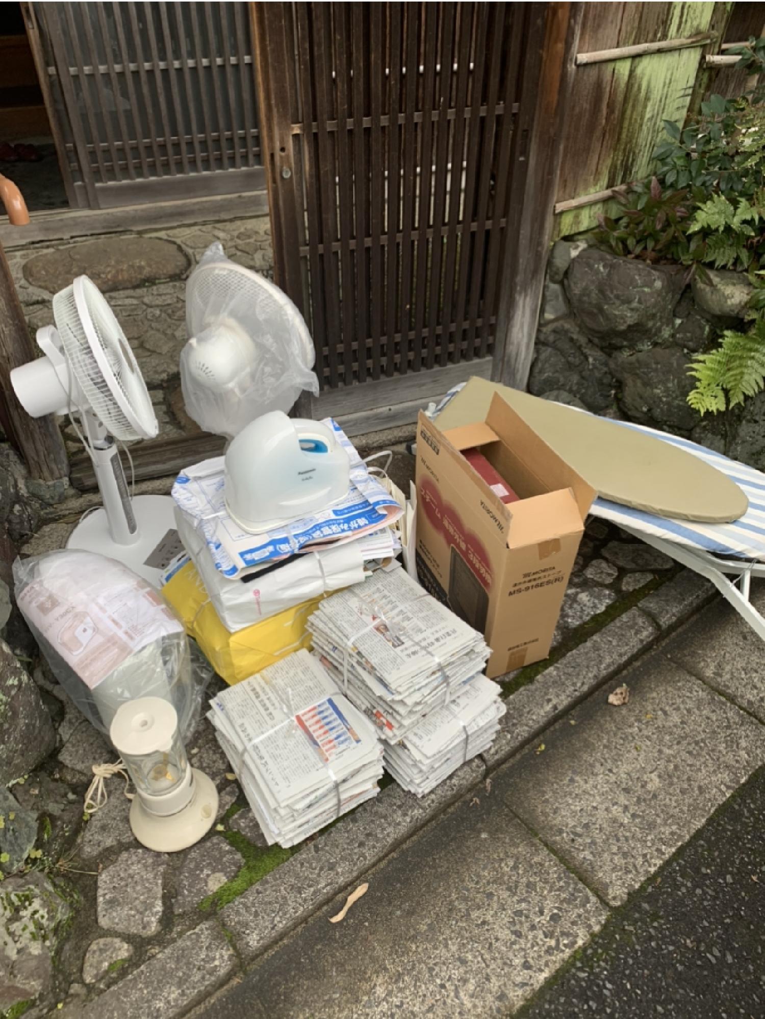 京都市西京区のお客様より不用品回収のご依頼。