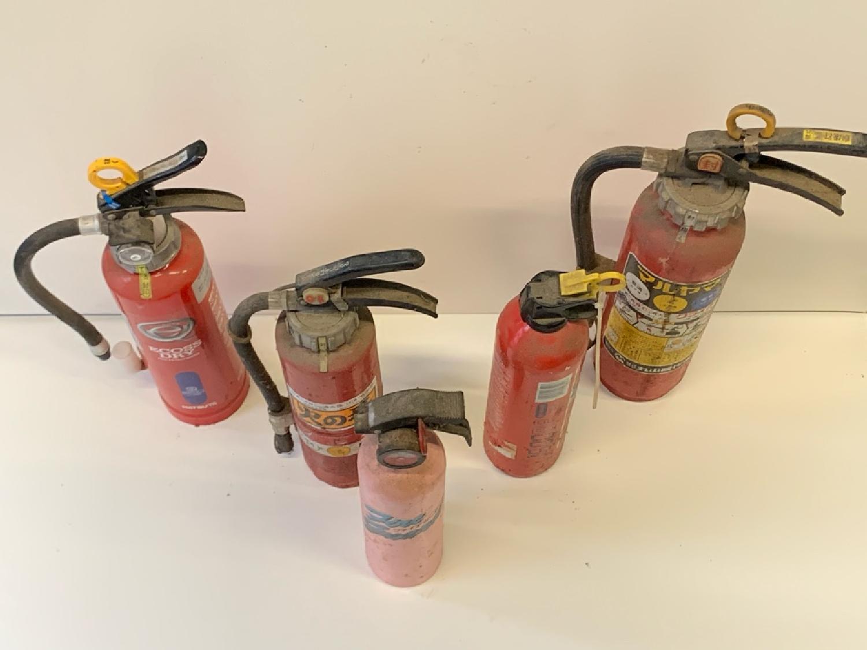 使用期限切れの消化器の回収とリサイクルについて。