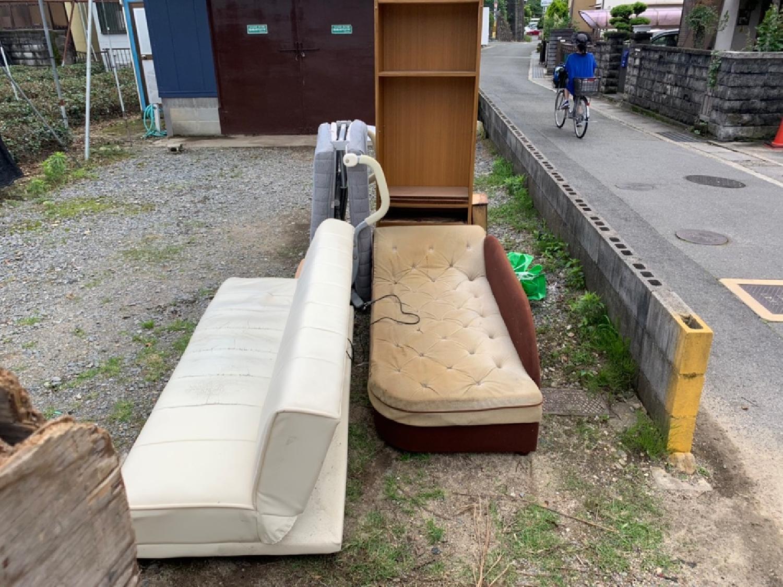 京都府宇治市のお客様より粗大ゴミ回収のご依頼 画像_1