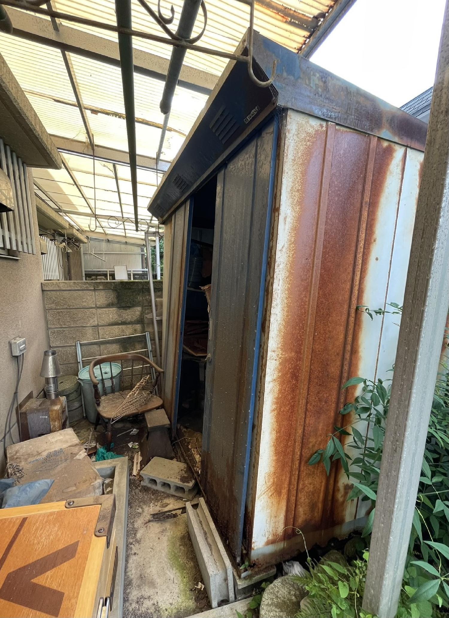 大阪府寝屋川市のお客様よりお庭のお片付けの見積もりのご依頼 画像_2