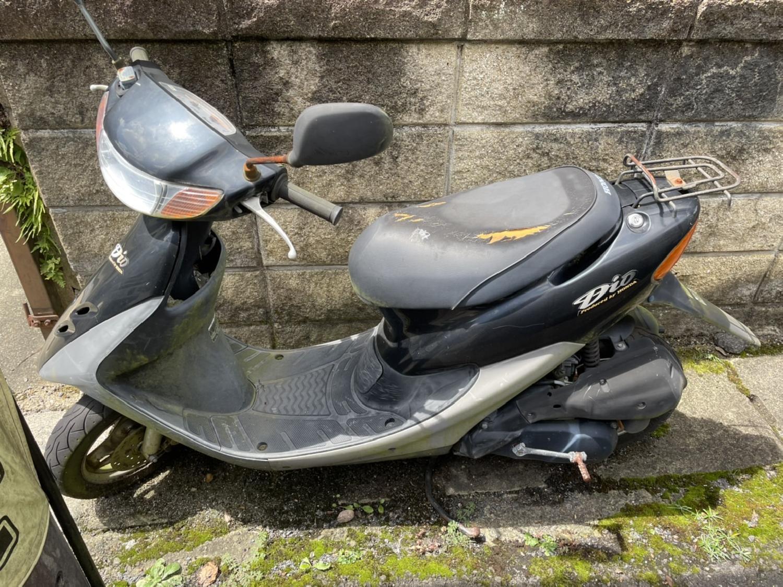 2021/09/08 17:00:00 京都市左京区岩倉のお客様よりバイクの回収のご依頼