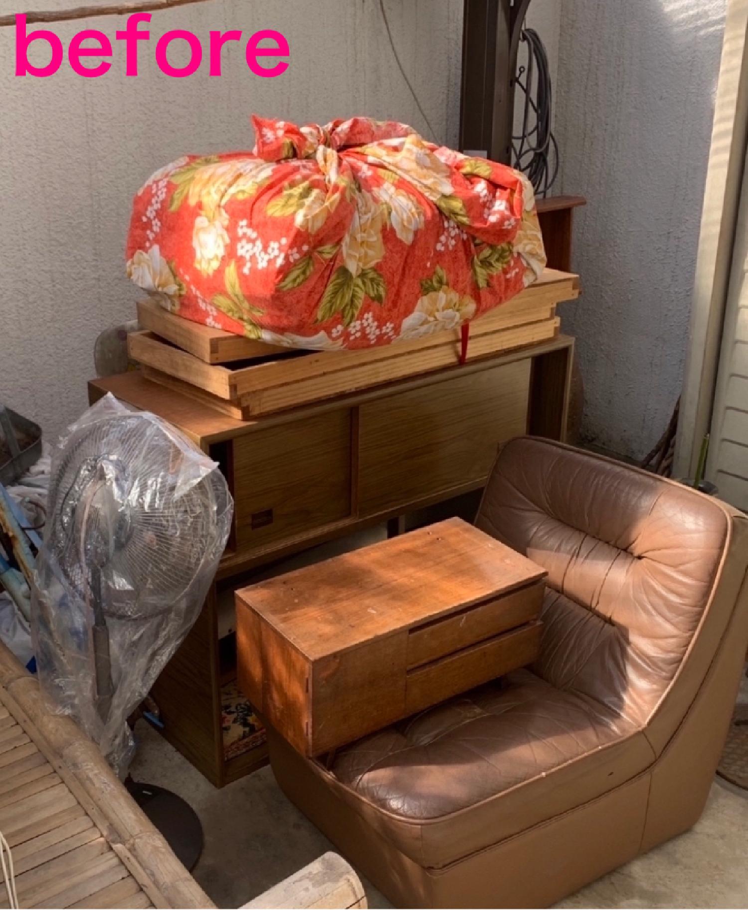京都市山科区のお客様より不用品回収のご依頼。