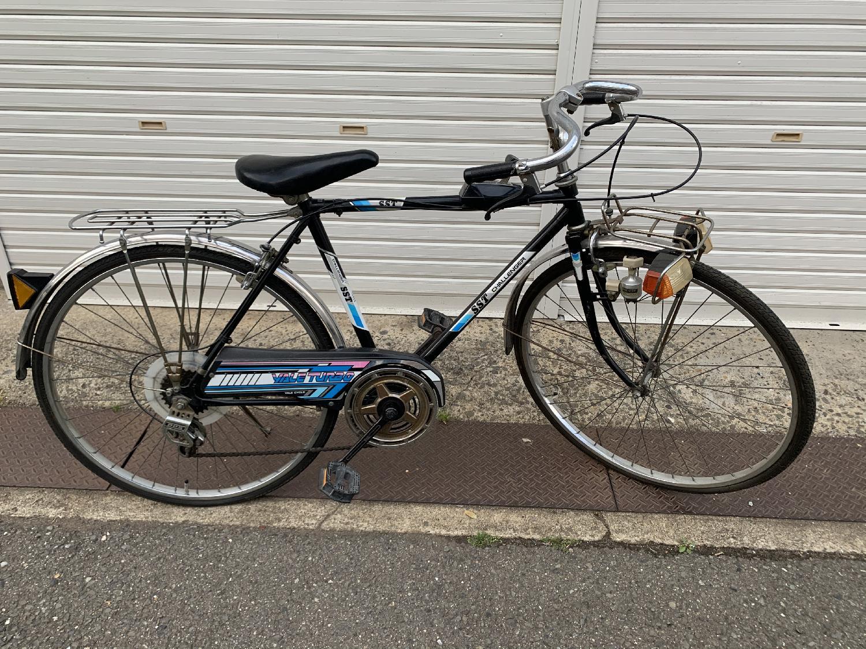 京都市右京区太秦で、懐かしい自転車を回収いたしました