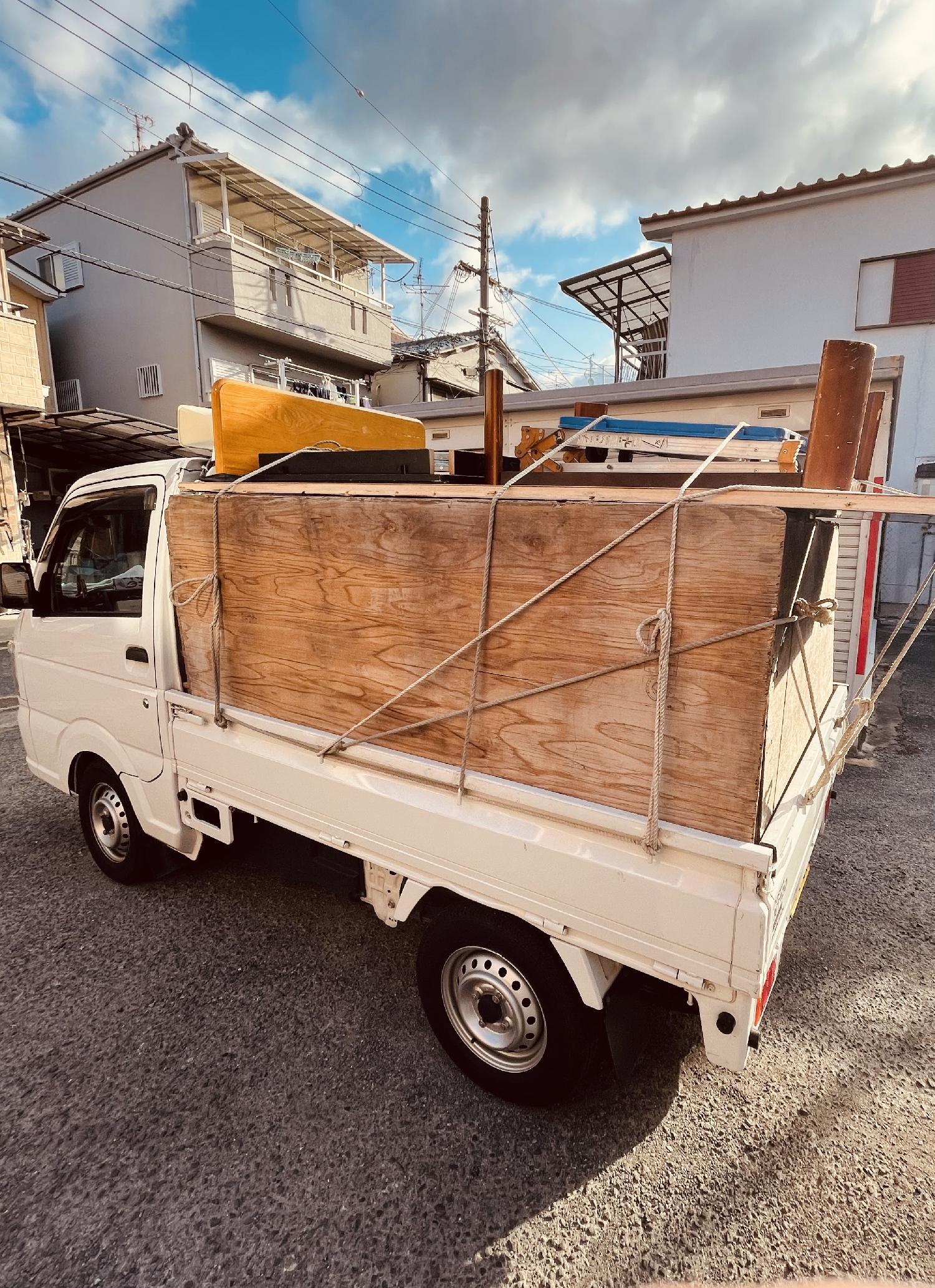 2021/02/24 大阪府岸和田市より不用品回収のご依頼